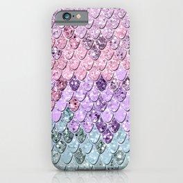 Mermaid Scales with Unicorn Girls Glitter #1 #shiny #pastel #decor #art #society6 iPhone Case