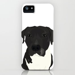 Atticus the Pit Bull iPhone Case