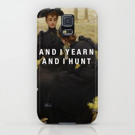 and i yearn iPhone Case