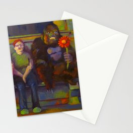 Waiting for A Friend Stationery Cards
