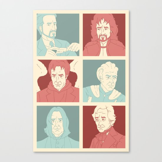 Rickmans Canvas Print