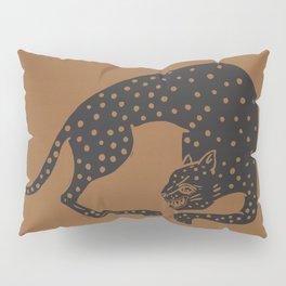 Blockprint Cheetah Pillow Sham