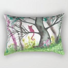 Padua Whimsical Cat Rectangular Pillow