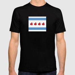 Chicago Flag - Duckies  T-shirt
