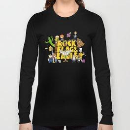 Rock, Flag & Eagle Long Sleeve T-shirt