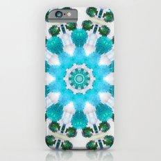 Blue mosaic mandala Slim Case iPhone 6s