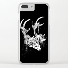 Ten of Wands Clear iPhone Case