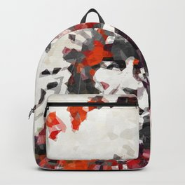 Modern Red Indian Chief - Sharon Cummings Backpack