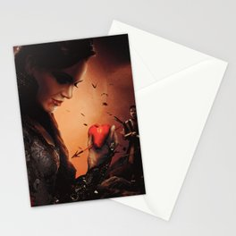 Halloween 2018 / Vampire Queen and Dark Robin Stationery Cards