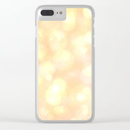 Champagne light Clear iPhone Case