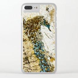 Dolerite 01 - Seahorse Clear iPhone Case