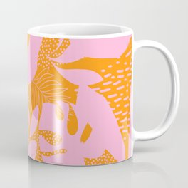 Sunny Tropical Cocktail #tropicalvibes #pattern Coffee Mug