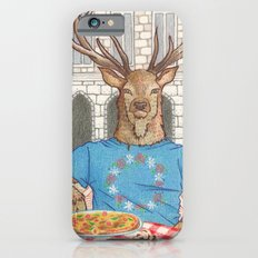 Everyday Animals - Mr Stag eats his lunch Slim Case iPhone 6s