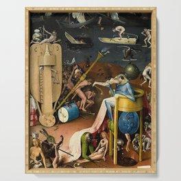 The Garden of Earthly Delights Bosch Hell Bird Man Serving Tray