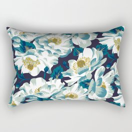 Mount Cook Lily (Night) Rectangular Pillow