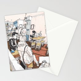 Little Rogue cafe Stationery Cards