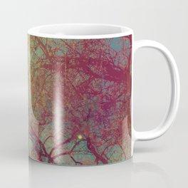 Tree Silhouette, Autumn Sunset Coffee Mug