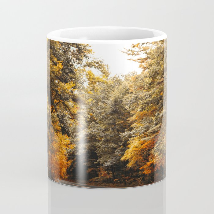 on the road in vermont Coffee Mug