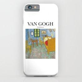 Van Gogh - The Bedroom iPhone Case