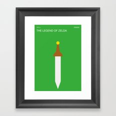 Poster Nintendo The Legend of Zelda Framed Art Print