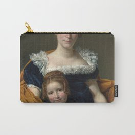 Jacques-Louis David - Portrait of the Comtesse Vilain XIIII and her Daughter Carry-All Pouch