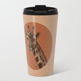 Round Giraffe Travel Mug