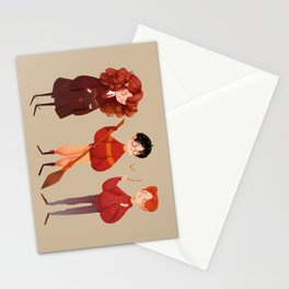 Friendship and Bravery Stationery Cards