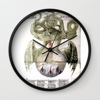 alchemy Wall Clocks featuring Alchemy by anipani