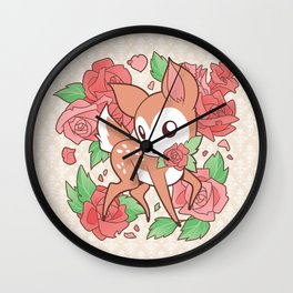 Oh My Deerling Wall Clock