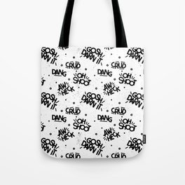 PG Cussin' Pattern Tote Bag