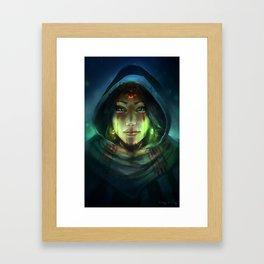Mystic Sage Framed Art Print