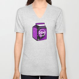 Demi Juice Unisex V-Neck