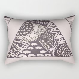 Triangle Sharpie Rectangular Pillow
