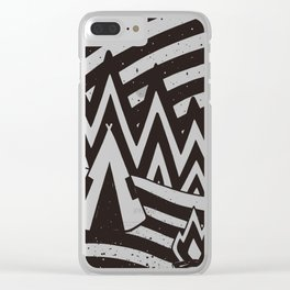 OVERN/GHT Clear iPhone Case