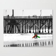 Surfing lifestyle    Canvas Print