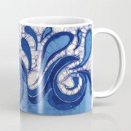 Batik Waves Coffee Mug