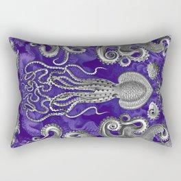 The Kraken (Purple - NoText, Alt.) Rectangular Pillow