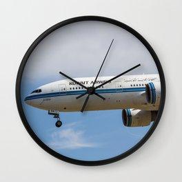 Kuwaiti Airlines Boeing 777 Wall Clock