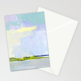 Bay View, Long Beach Island, New Jersey Stationery Cards