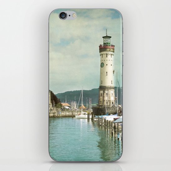 LINDAU LIGHTHOUSE - LAKE OF CONSTANCE iPhone & iPod Skin