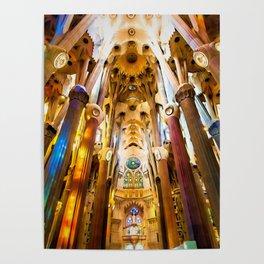 Sagrada Familia Art Work Poster