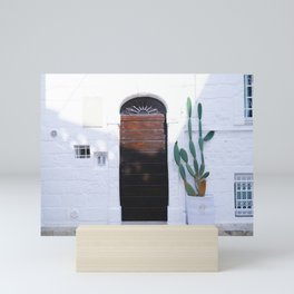 Summer and cactus Mini Art Print