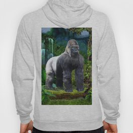 Silverback Gorilla Guardian of the Rainforest Hoody