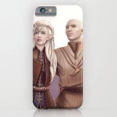 Dragon Age - Finding Skyhold - Solas and Inquisitor iPhone 6s Slim Case