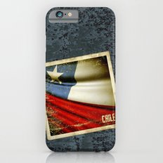 Chile grunge sticker flag Slim Case iPhone 6