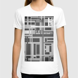 Black and White Lines T-shirt