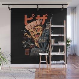 Pizza kong Wall Mural