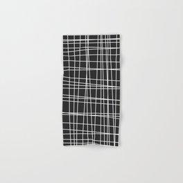 White line design - Simple disarray  Hand & Bath Towel