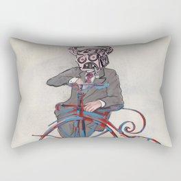 Barry Gangster Farthing - Cream Rectangular Pillow