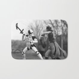 Let's fight! Bath Mat